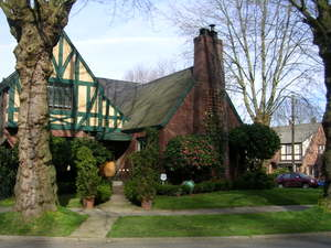 Tudor Home in Montlake