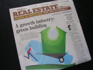 "The Seattle Times Real Estate article: ""Good Look at New Housing Credit"" from Feb. 22, 2009"