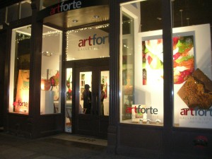 Artforte Gallery in Pioneer Square