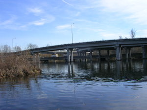 520 Freeway Bridges that pass through the Montlake Neighborhood and the Washington Park Arboretum
