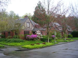 Montlake Neighborhood of Seattle has many charming Tudor Homes